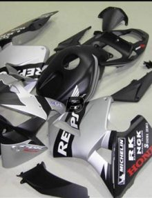 17 PC Flat Black Repsol Fairing Set - Honda CBR600RR 2005-2006