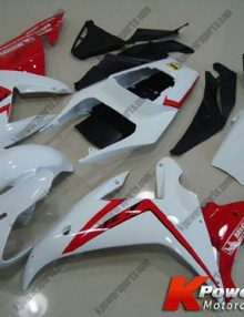 16 Piece White and Red Fairing Set - Yamaha R1 2002-2003