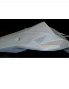 Sharkskinz RACE TAIL-uses stock seat S1000RR 2012-2014