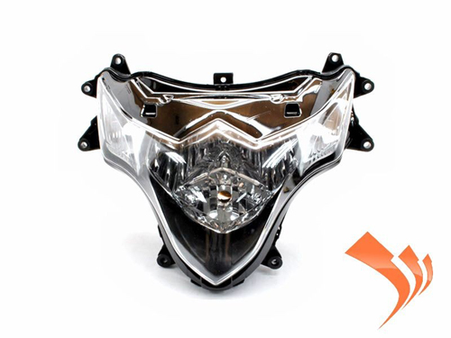 Easy Fairings Clear Headlight - Suzuki GSXR 1000 2009-2012