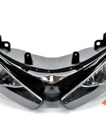 Easy Fairings Clear Headlight - Kawasaki Ninja ZX6R 2005-2006