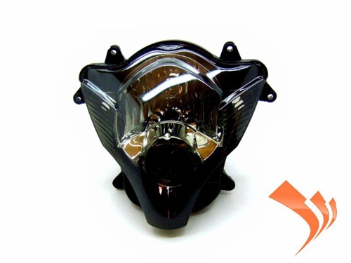 Easy Fairings Smoked Headlight- Suzuki GSXR 600/750 2006-2007