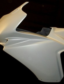 SharkSkinz Race Upper Fairing - Honda CBR 500R