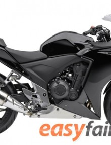 Easy Fairings Black Fairing Set - Honda CBR 500R 2013