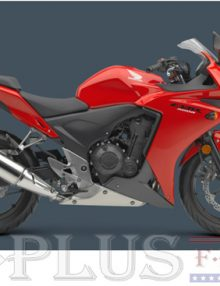 Fairing Solutions Red Fairing Set - Honda CBR 500R 2013-2014