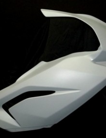 SharkSkinz 1 Piece Race Upper Fairing - Aprilia RS125