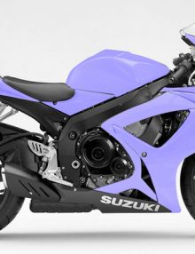 Purple Fairing KIt - GSXR 600/750 2006-2007