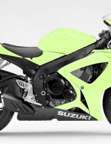 Lime Fairing Kit - GSXR 600/750 2006-2007