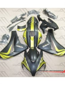 American Motorworks Flat Black And Gold 08-11 CBR1000RR