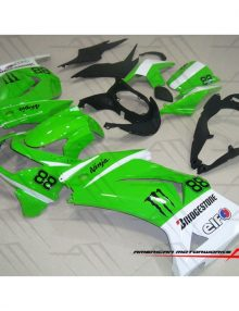 American Motorworks Green And White 08-12 NINJA 250R